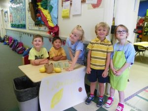 Pre-K on yellow day