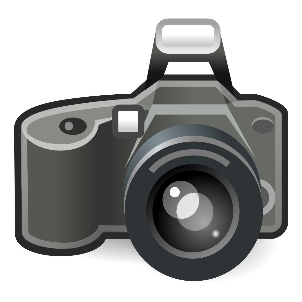 digital camera clipart